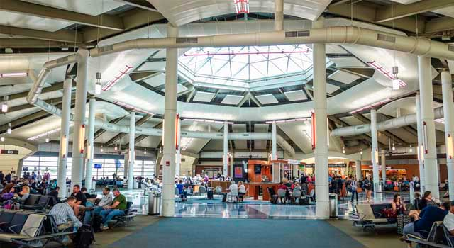 New Orleans Airport is an international airport located 11 miles west of New Orleans downtown.